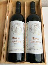 Rarität exklusiver Baron de Rothschild 1997 Baron Henri Medoc 2 Flaschen in OHK