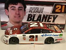 Autographed 2017 Action Ryan Blaney #21 Omnicraft 1/24 Color Chrome 1 of 72