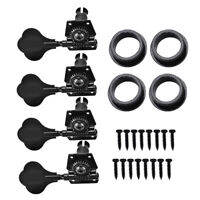 4x R Bass Tuning Pegs Tuners Machine Heads for 4 Strings Electric Bass Guitar