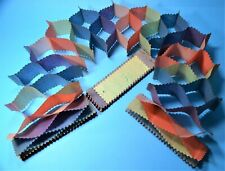 2 matching CHRISTMAS PAPER VINTAGE GARLANDS HONEYCOMB LONG MULTI-COLOURED GAR21