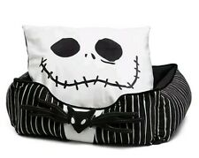 The Nightmare Before Christmas bolstered corded pet bed with Jack pillow New2020