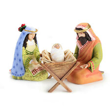Patience Brewster NATIVITY HOLY FAMILY FIGURES KRINKLES CUTE! Item #08-07181