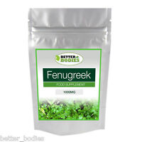 100 Fenugreek 1000mg  Tablets Better Bodies None Capsules High Strength Formula