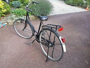 """Vintage Bicycle, Ladies, Dutch Style 22"""" ? bike, 28 inch wheels. Sit up and beg"""