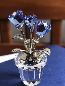 Swarovski crystal memories -  Forget Me Nots 908611 New In Original box.