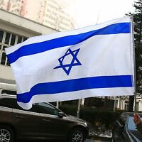 Israel National Country Flag 3X5FT Polyester 90*150cm Large Banner Outdoor Game