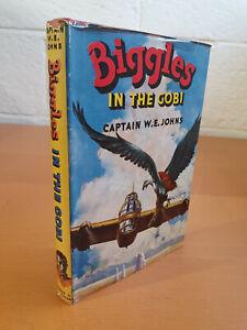 CAPTAIN W. E. JOHNS Biggles in the Gobi - 1st ed 1953 in d/j  -