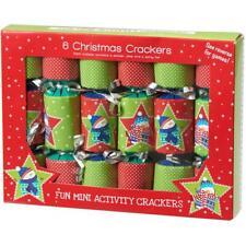 6 Pack Mini Christmas Crackers