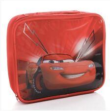 DISNEY CARS INSULATED LUNCH BAG LIGHTNING McQUEEN CHILDS KIDS NURSERY SCHOOL NEW