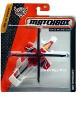 2015 Matchbox Sky Busters Sky Shredder red-white