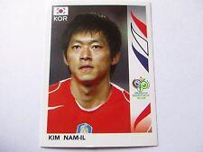 Sticker PANINI Fifa World Cup GERMANY 2006 N°505 South Korea Kim Nam-il