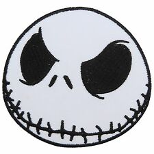 Jack Skellington Nightmare Before Christmas Pumpkin Ghost Iron on Patches #1585