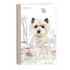 Quality West Highland Terrier Westie Hardcover Lined Notebook A5 Perfect Gift