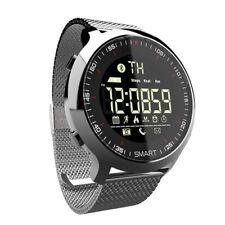 Smartwatch Bluetooth Android IOS Fernkamera Fitness Smart Armband Tracker Uhr DE