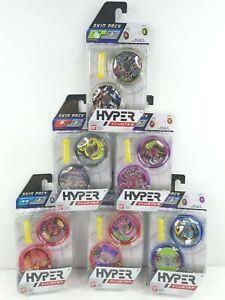6 BANDAI Hyper Cluster Yo Yo Skin Pack Variety Speed Stamina Loop Weight NEW
