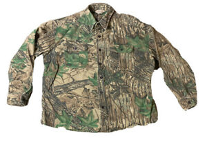 VTG Walls Realtree Men's Button Down Camo Long Sleeve Size XL