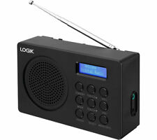 LOGIK L2DAB16 Portable DAB/FM Radio - Black - Currys