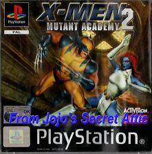 Caída de precios rápida libre Post a Reino Unido PS1 X-men Mutant Academy 2 Inc Manual