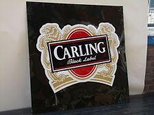vintage large tin pub sign Carling