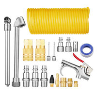 "Air Compressor Accessory Kit 1/4"" NPT Air Tool Kit with 1/4 Inch x 25Ft Air Hose"