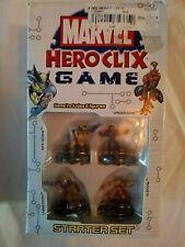 Marvel Hero Clix Game Starter Set 2004 New-Open Box