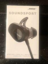 Bose SoundSport Wireless Sport Headphones - Black - new and sealed