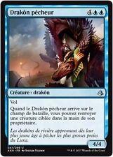 MTG Magic AKH - (x4) Angler Drake/Drakôn pêcheur, French/VF