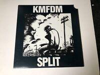"KMFDM - Split / Piggybank - Promo 12"" Single - Wax Trax! 1991"