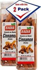 BADIA - Cinnamon Sticks 9 oz (2 PACK) - Canela en Rama