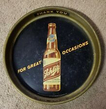 """Schlitz 13"""" Beer Serving Tray For Great Occasions"""