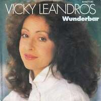 """Vicky Leandros - Wunderbar (7"""", Single) Vinyl Schallplatte 33694"""