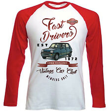 RENAULT 5 Driver veloci-NUOVO Amazing Graphic T-Shirt S-M-L-XL - XXL