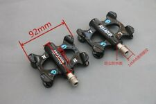 Carbon Fiber Pedals MTB Road Bike Pedals Bicycle Flat Platform Anti-Slip Gloss
