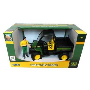 1/16th John Deere Gator XUV 855D with Driver by Bruder 9812