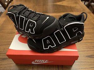 zapatillas nike air more uptempo negras