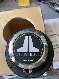 "JL Audio 8W1v3-4 150W 8"" 4 Ohm Car Subwoofer - Top Quality Speaker Only"