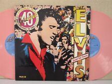 ELVIS PRESLEY - 40 Greatest Hits 2-LP **PINK VINYL PRESSING 1978** The Best of