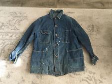 Vintage Blue Bell Denim Work Ranch Jacket 1940's 1950's