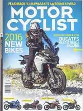 MOTORCYCLIST MAGAZINE F/March 2016 (NEW COPY)