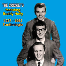 CD The Crickets featuring Buddy Holly 1957-1962 : l'anthologie