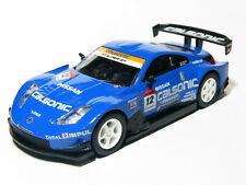 KYOSHO 1:64 Scale Nissan FAIRLADY Z 2006 Blue #12 Racing Diecast Miniature Car