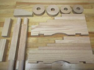 """Cannon Carriage Naval Kit Oak For 20"""" to 25"""" Black Powder Barrel"""