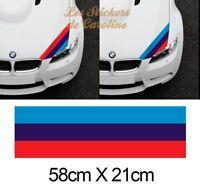 BANDE POUR BMW M3 MOTORSPORT RACING AUTOCOLLANT STRIPE STICKER BD530-2