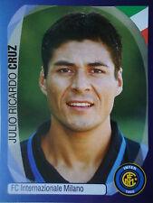 Panini 178 Julio Ricardo Cruz FC Internazionale UEFA CL 2007/08