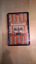 ALMANACH HACHETTE 1939