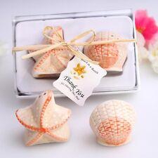 Bomboniera Sale e Pepe Marine conchiglie e stelle marine in ceramica regalo