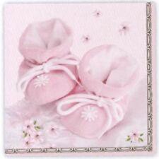 Servietten Taufe / Geburt rosa 33x33 cm (Maki Pol-Mak)