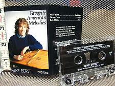 MIKE BERST cassette tape Favorite American Melodies dulcimer 1988 Ann Arbor OG