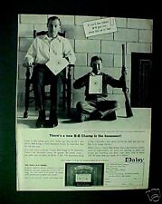 1964 Daisy BB Pump Gun Western Rifle Model 1894 Vintage Oddball Boys Kids Toy AD