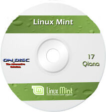 Linux Mint 17 Qiana LTS Cinnamon 64 Bit Full Operating System OS Computer PC